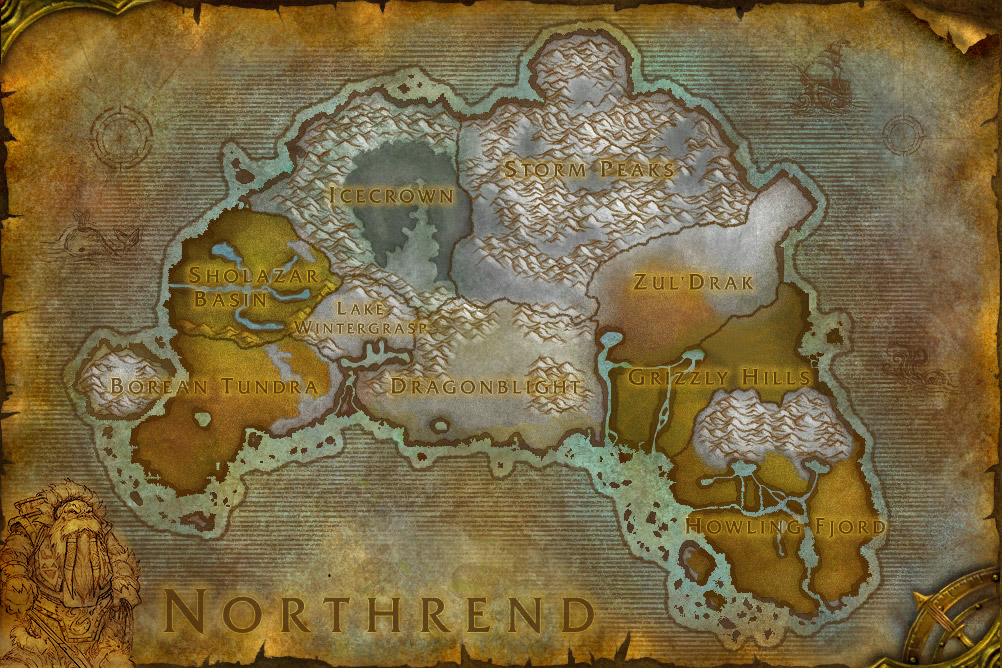 how to get to northrend legion